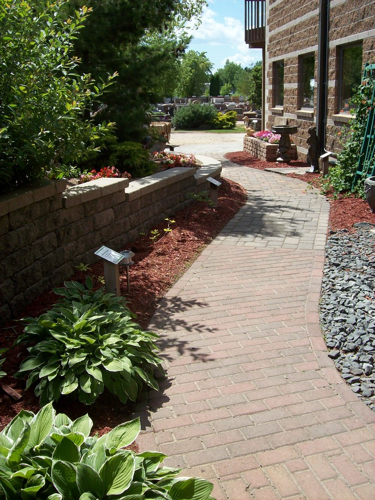 Paver Walkway (Patio Town) Tags: Walkway Twincities Oakdale Mn Paver  Patiotown Patiotowncom