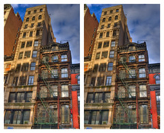 Mutt and Jeff (-ytf-) Tags: nyc newyorkcity thevillage 3d manhattan guesswherenyc stereo nycguessed crossview frankensteinguessed ytf onmycommute ytfnyc