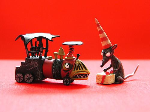 neca nightmare before christmas mummy boy & bat kid accessories ...