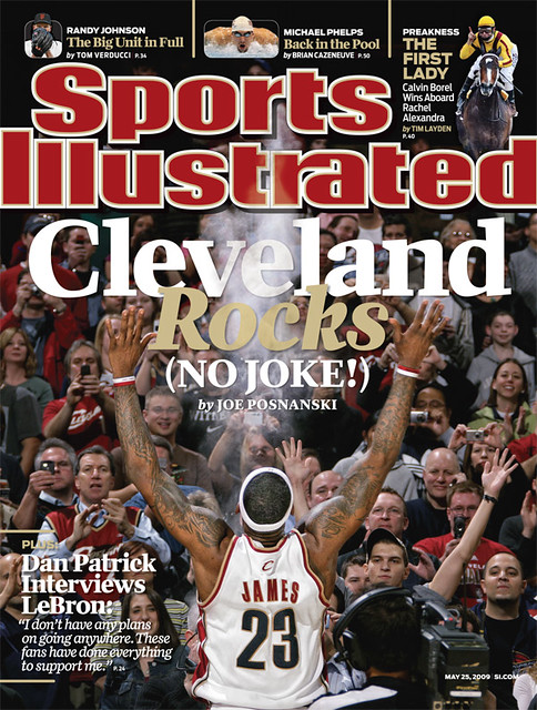 Sports Illustrated Cover: May 25, 2009