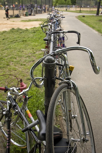 McCarren bike rack
