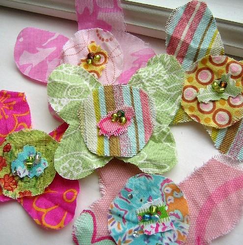 Les Scraps La Fleur Butterflies set #70
