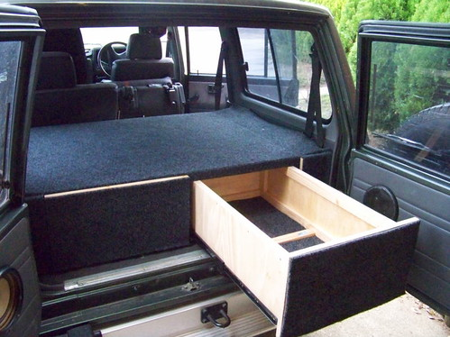 My 1st attempt at drawers, pics inside - Patrol 4x4 ...