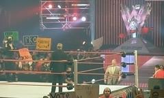 Vince McMahon confronts a fake Kroenke