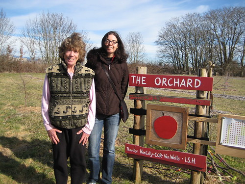 Susan visits a community orchard in Vancouver with 140 fruit trees!