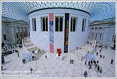 London British Museum ~ Art is all around ~ (david gutierrez [ www.davidgutierrez.co.uk ]) Tags: city uk people urban london art museum architecture spectacular geotagged photography design interestingness arquitectura cityscape thankyou searchthebest interior sony centre perspective