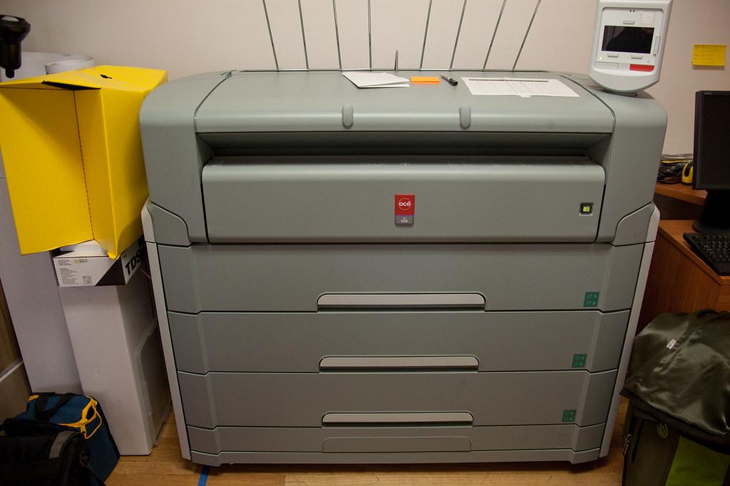 huge laser printer