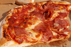 20090530 Salami Pizza