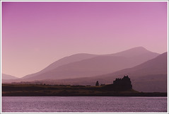Duart Castle Silhoutte, Isle of Mull, Scotland - Sun Setting to the West (EdinburghGary) Tags: scotland highlands isleofmull mull duart duartcastle casle scottishcastle
