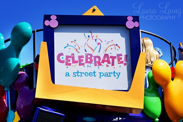 Celebrate: A Street Party Sign