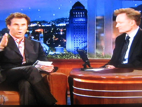 Conan Will Ferrell Tonight Show