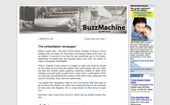 The embeddable newspaper « BuzzMachine_1244168306907