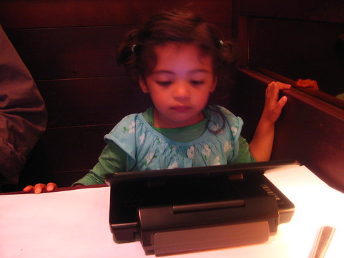mira (watching lion king). chez panisse cafe.