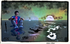 Carte da decifrare (Cammino & Vivo Capovolto  Claudio ) Tags: life moon mystery luna sl fantasy secondlife second carte mistero cartedadecifrare