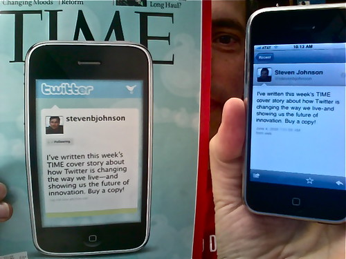 Time Cover Story: How Twitter Will Change The Way We Live (in 140 characters of less)