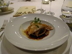 蒜香魴魚附野餃