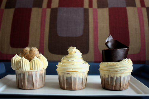 sunny yaw cupcakes