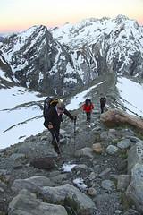 sulla morena (Signalkuppe 4:3) Tags: ticino svizzera montagna ghiacciaio cappa capanna utoe levantina bresciana adula