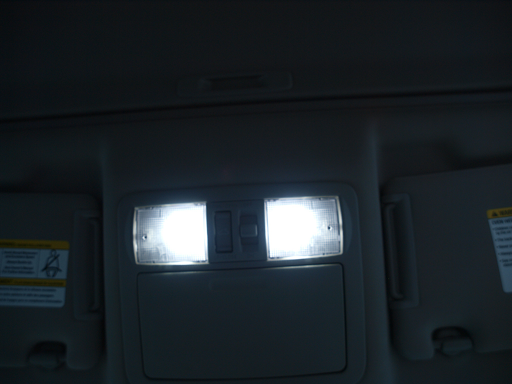 how to change dome light in pathfinder