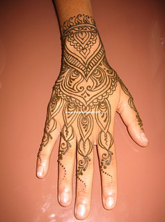 Bollywood party hand piece