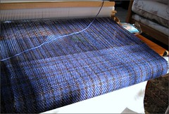 Mas-Acero Shawl, in progress