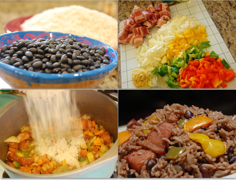 ... Congri (Arroz Moro) Recipe – Cuban Style Black Beans and White Rice