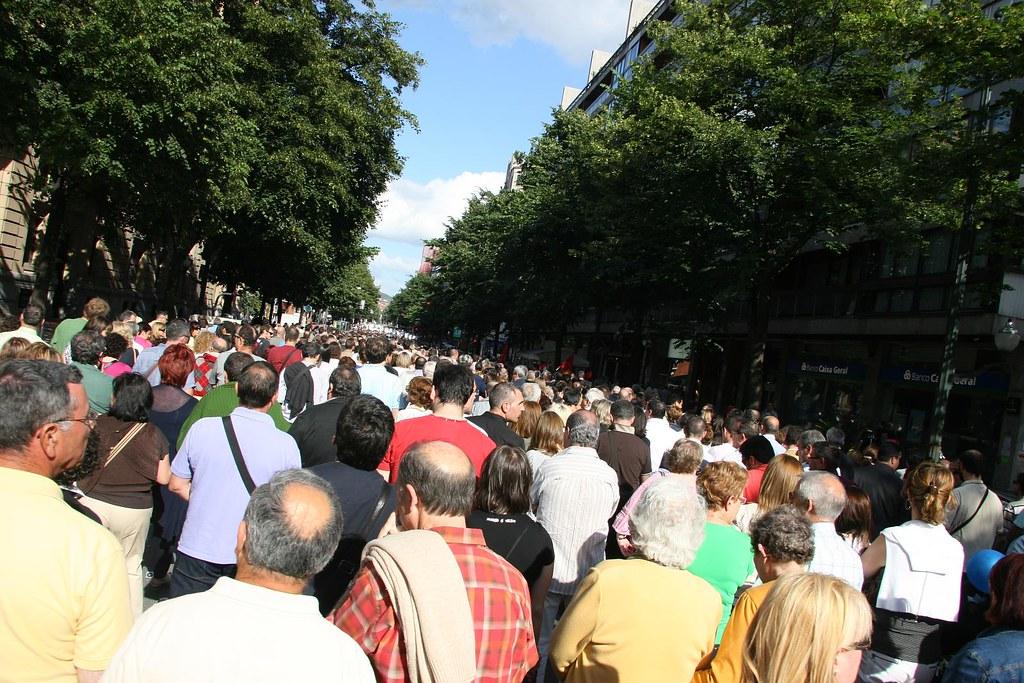 manifestación 20.06.2009