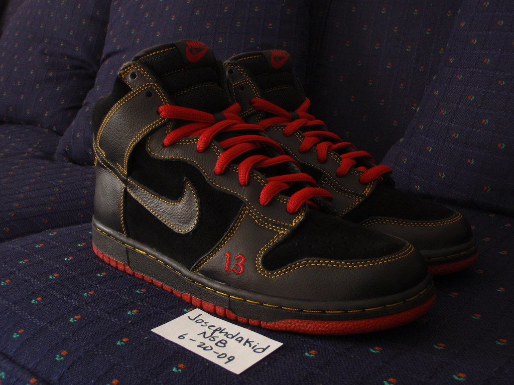 competitive price a7845 4267f Nike Dunk SB Unlucky 13 (josephdakid) Tags high nike marshall lucky doom mf