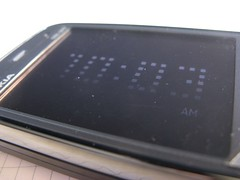 Nokia N86 - screen saver
