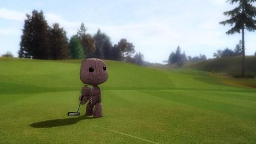 LittleBigPlanet - SackBoy Golfing