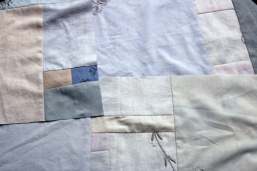 blue fields quilt wip