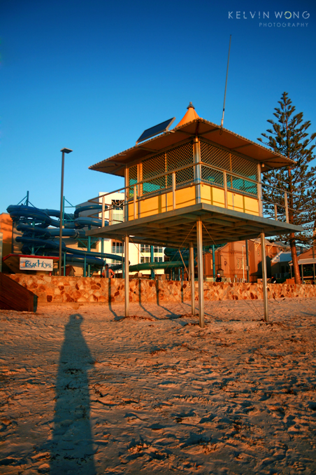 Glenelg Beach ~ My Shadow