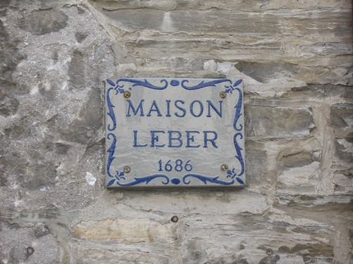 Maison Leber, 1686