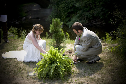Bertha brock park wedding