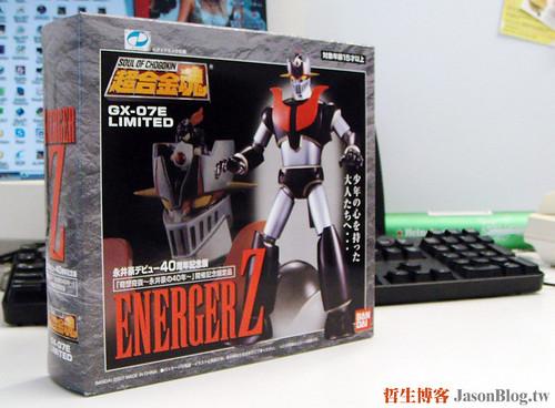 超合金魂 Energer Z 開箱照 01
