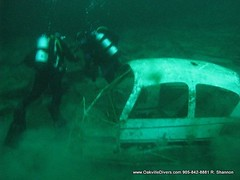 Rob Shannons Cessna shipwreck... (Oakville Divers) Tags: toronto ontario canada burlington computer fun photography boat video divers orkney aqua underwater snorkel tank mask dove dive twin scuba diving m padi watersports lakeontario aqualung mississauga gta salvage isle shipwrecks drysuit jeannette cessna fins oakville wetsuit brampton rebreather cmas regulator subaqua oceanic acuc apeks naui zeagle suuntoo wwwoakvillediverscom diverscom wwwdiveaquacom jesseanne submergeded