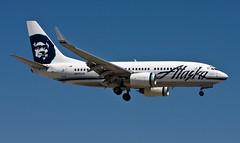 Alaska Airlines Boeing 737-700 N615AS (Code20Photog) Tags: county orange alaska john airport wayne international boeing airlines 737 n615as knsa