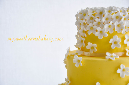 Spring Summer Wedding Cake Introducing Sunshine My newest cake model for