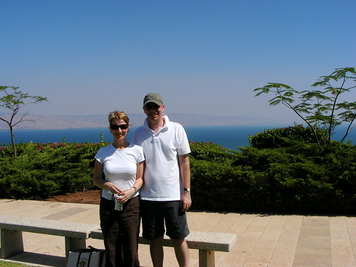 Avril and Stewart at Galilee