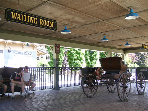 Cedar Point - CP & LE Railroad Waiting Room