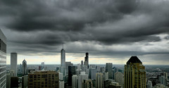 Chicago South (doug.siefken) Tags: city urban usa chicago storm tower art weather skyline architecture clouds buildings dark geotagged photo illinois flickr downtown doug cities windy douglas urbanscape streeterville chicagoskyline citscapes siefken dougsiefken douglasrsiefken