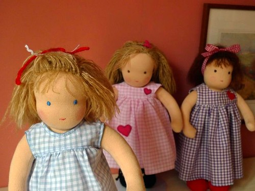 Hannah's doll and her sisters