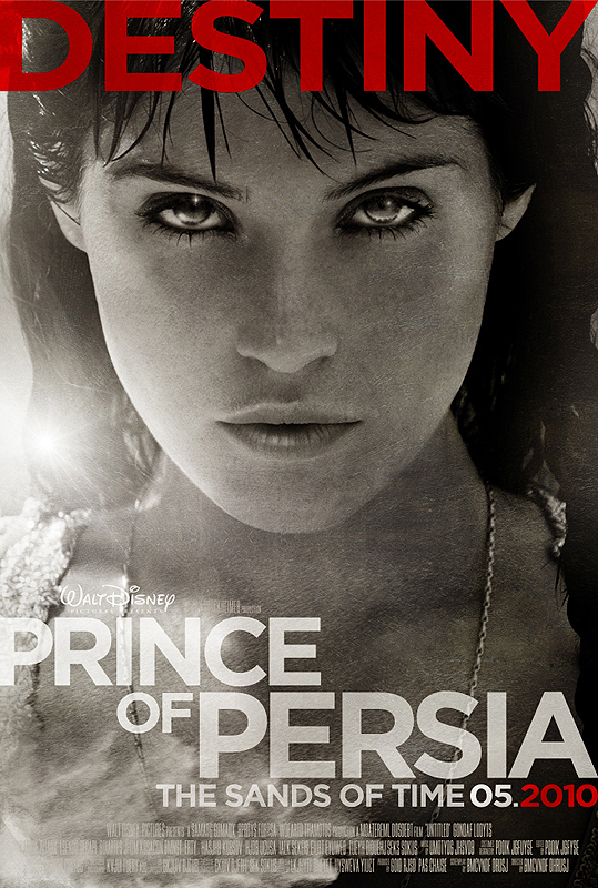 Príncipe de Persia Gemma Arterton Tamina