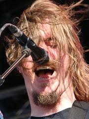 Mikkael Akerfeldt @ Metalway Festival 09' (Jorge del Amo Mazaro) Tags: opeth akerfeldt
