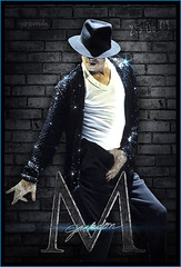 Michael Jackson (gorigo) Tags: blue glitter michael king pop jackson glove blend thriller gorigo goripanda 250609