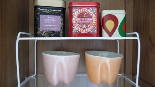 My tea shelf