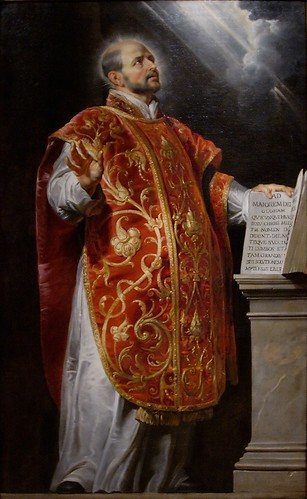 St. Ignatius of Loyola by Peter Paul Rubens
