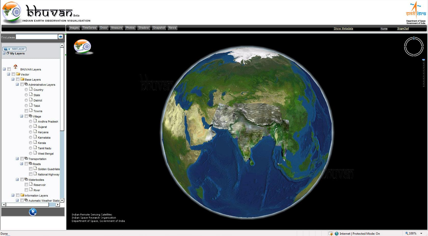 Image result for isro bhuvan