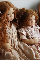 Esme and Irmi Himstedt (MiriamBJDolls) Tags: doll vinyl 1997 limitededition esme irmi annettehimstedt himstedtkinder