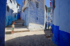 Morocco-090601-095 (Kelly Cheng) Tags: africa street travel girls people house color colour building heritage tourism boys girl sunshine horizontal architecture children landscape daylight alley colorful day village child outdoor culture vivid sunny morocco lane medina chaouen colourful copyspace persons chefchaouen traveldestinations rifmountains lpcorners